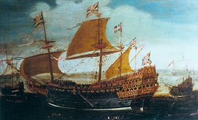 bateau 18eme